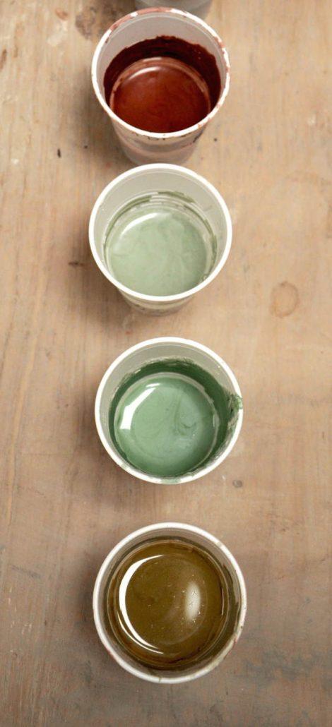 Formation de poterie et céramique, émail et couleurs, école Créamik