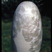 Vase cristaux blancs céramique de Matthieu Liévois, poterie Créamik