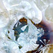 Détails cristaux céramique de Matthieu Liévois, atelier Créamik