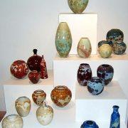 Céramiques de Matthieu Liévois, cristaux