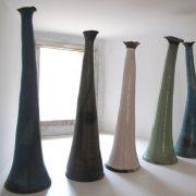 Créations d'une ancienne élève de l'école Créamik : vases de Laure Dagorne