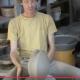Comment tourner un vase disque à partir de rondos préformés.