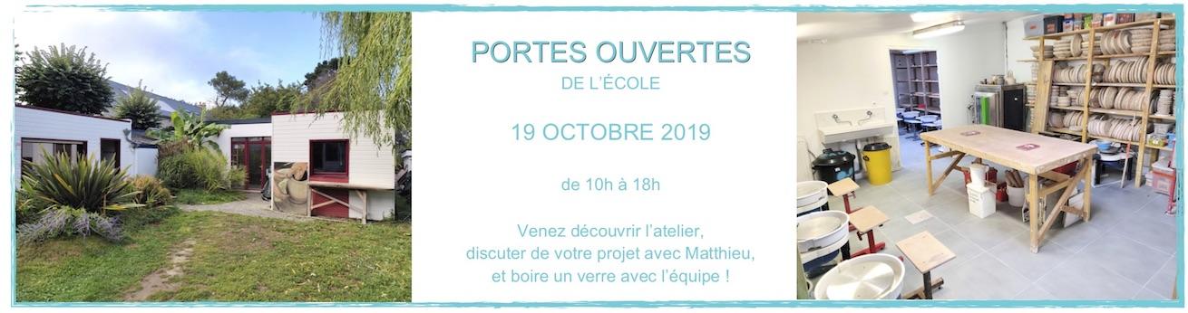 Portes ouvertes de l'école Créamik le 19 octobre 2019